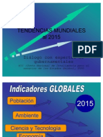 Tendencias mundiales 2015