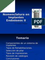 nomenclatura implantes