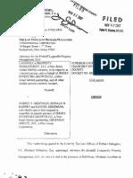 Laganella v. Hekemian & Co Order