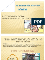 EL CICLO DEMMING