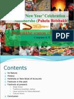 Bangla e28098new Year Celebration e28093 Noboborsho