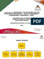 ANÁLISIS ESTRUCTURAL Y SU RELACIÓN CON LOS INTRUSIVOS  MIOCÉNICOS. ZONA DE URUBAMBA Y ALREDEDORES.