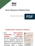 Dose–Response Relationships