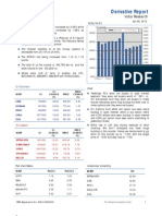 Derivatives Report 6th January 2012