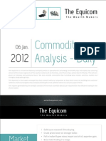 Commodity Analysis and Mcx Tips for 06-01-2012