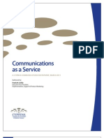 Whitepaper Communications as a Service 03-11-11