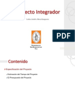 Est Imac Ion Presupuesto de Proyectos Multimedia