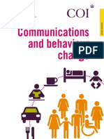 Communication and Behaviour Change