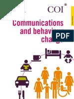 Communication and Behaviour Change