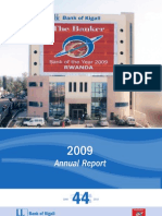 Bank of Kigali Annual Report 2009