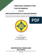 Sheila N. Nindra (Pancasila Sbg Etika Politik)