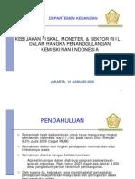 Kebijakan Fiskal, Moneter, & Sektor Riil