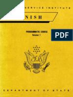 Fsi Spanish Programmatic Course Volume1 Student Text