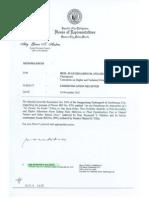 Zamboanga City Resolution supporting Anti-No Permit No Exam Bill