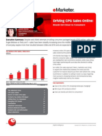eMarketer Driving CPG Sales Online-Brands Get Closer to Consumers