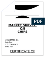 Market Survey on Chips