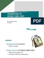 Sum of Changes Oshas 18001