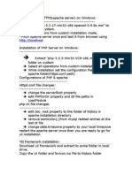 Installation of HTTPD
