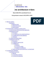 Architecture de Program Mat Ion