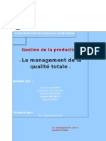 management de la qualité totale