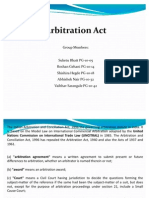 Arbitration Act Final