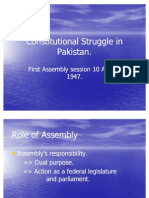 Lecture No 4.Constitutional Struggle in Pakistan