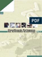 Classificação Portuguesa das Actividades Económicas [CAE-Revisão 3] (INE 2007)