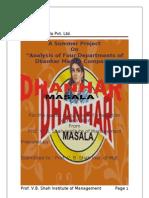 Dhanhar Masala