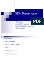 ALC-SDH Basics and Alcatel SDH System Training Presentation 46 Slide