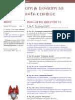 [D&D 3.5e - Ita] [Errata Corrige] Manuale Del Giocatore