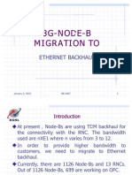 3G Node-B - Ethernet Backhaul