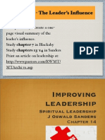 Section 7 The Leaders Influence (Part 2)