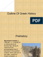 Outline Of Greek History