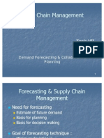 7_Demand Forecasting & Collaborative Planning