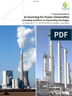Brochure - 1st Annual Summit on Fuel Sourcing for Power Generation