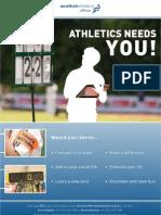 Athletics Needs You