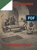 Ludendorff, M. u. Löhde, Walter - Christliche Grausamkeit an deutschen Frauen, Ludendorffs Verlag