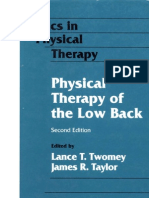Physical Therapy of the Low Back