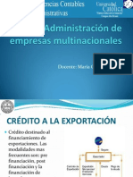 Admin is Trac In de Empresas Multinacionales