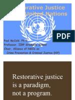 Restorative Justice and the UN - Beth06_mccold