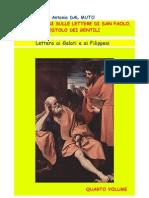 Riflessioni Sulla Lettera Ai Galati e Ai Filippesi