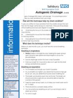 Autogenic Drainage A4 PI0144 Jan 2011 v1_0