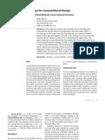 eCAADe 2009 - Ontology for Computational Design