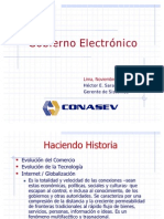 Gobierno Electrónico - Ing. Saravia