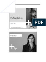 Itil Foundations 1503