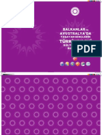 Balkanlar ve Avustralya'da Yaşayan Gençlerin Türkiye'deki Kültür ve Tarih Buluşması Almanağı - 2011
