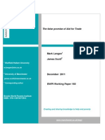 M. Langan &  J. Scott - The False Promise of AfT December 2011 [BWPI Working Paper 160]