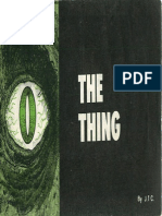 Chick Tract - The Thing