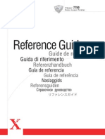 Reference Guide Esxerox7750