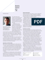 Tellabs Insight Magazine - The Core of the Mobile Broadband Experience